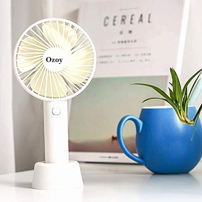 Fan for Travelling Electric USB Rechargeable Handheld Mini Fan Cooling