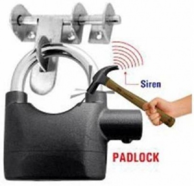 Anti Theft Motion Sensor Alarm Lock for Home | Office and Bikes | Security Lock